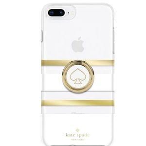 kate spade Stability Ring & White Gold XS Max Case
